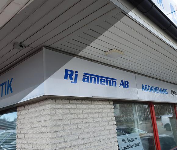 RJ Antenn webbutik med antenner och elektronik